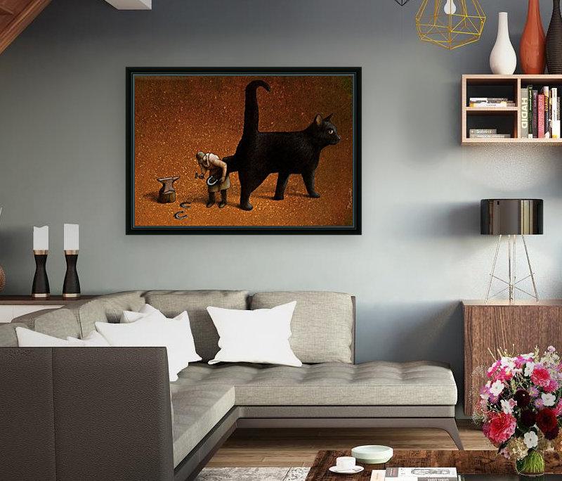 Black cat  Art