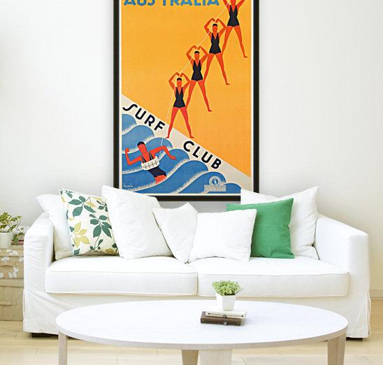 Australia Surf Club poster  Art
