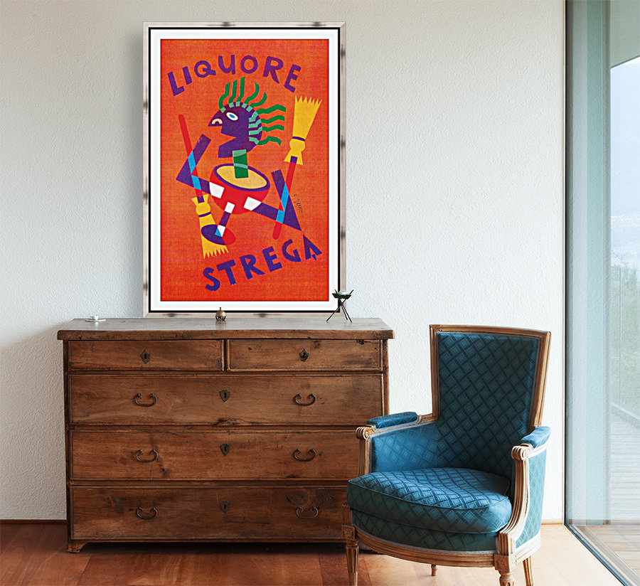 Strega Alberti Benevento poster  Art