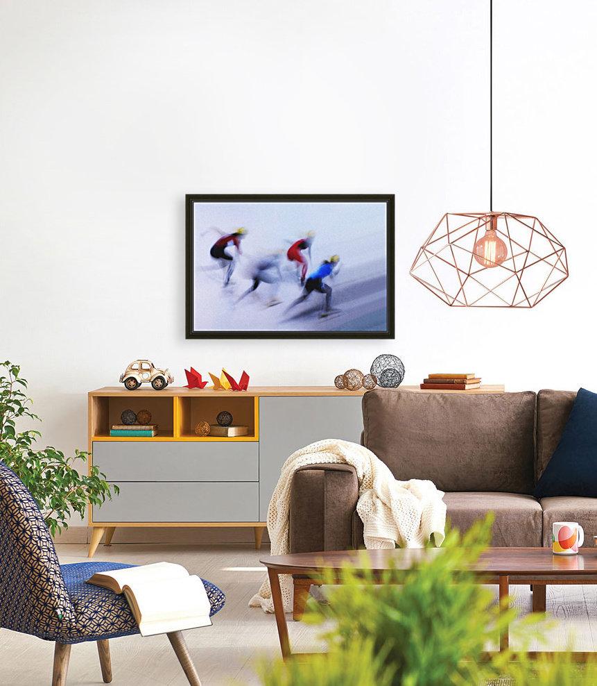 Speed Skating 1  Art