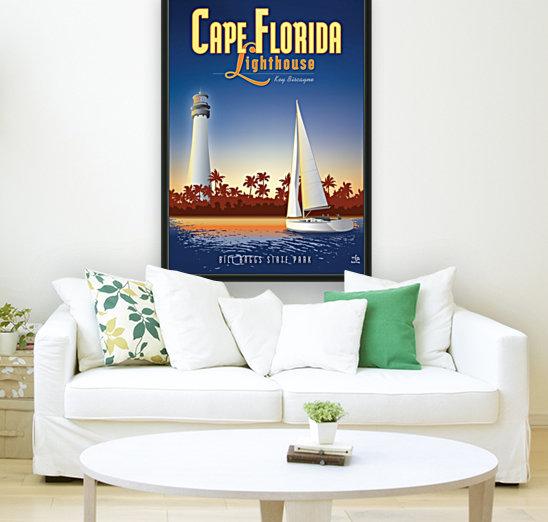 Cape Florida Lighthouse  Art