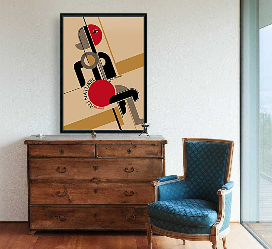 Bauhaus Nude  Art