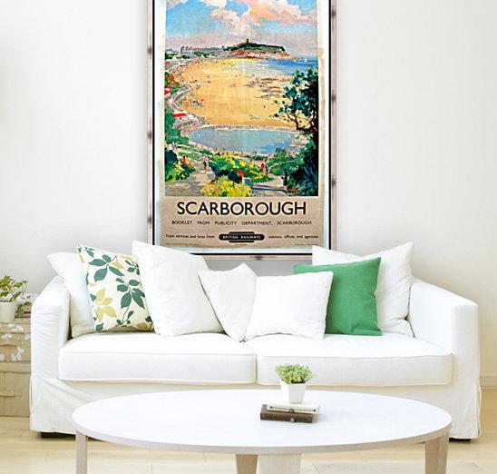 Original Railway Poster Scarborough  Art