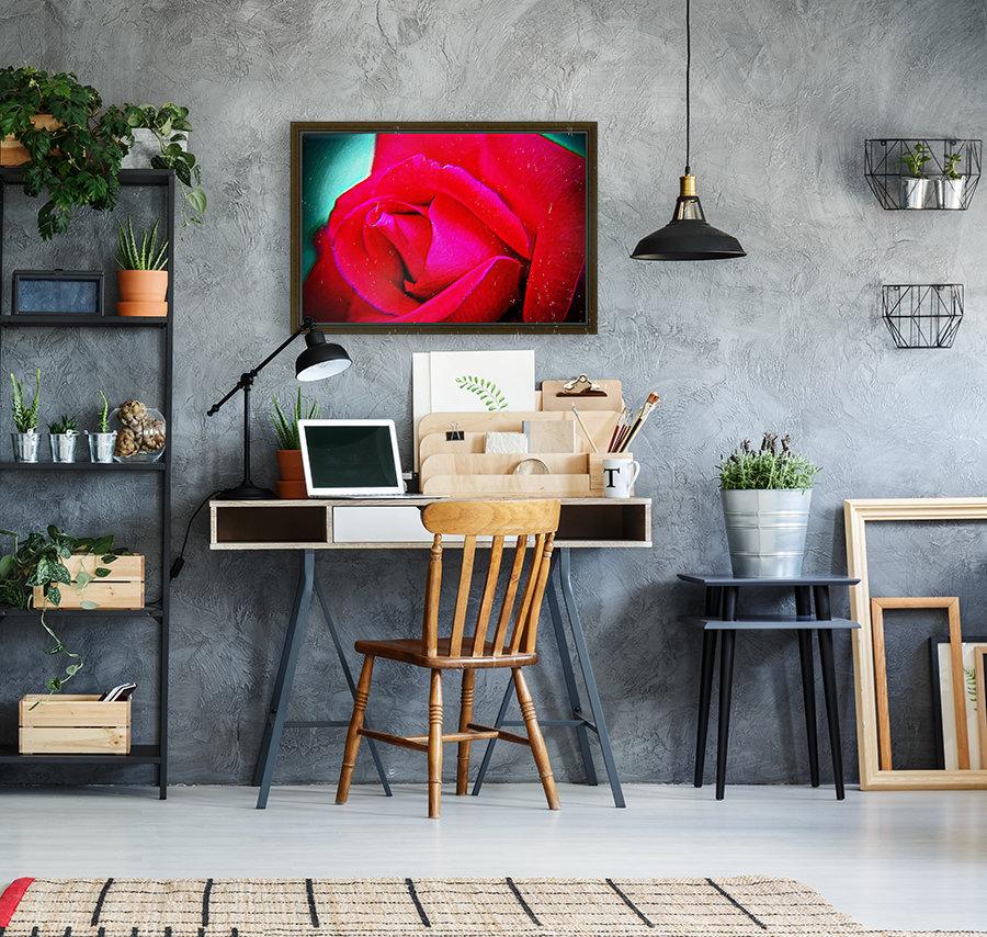 Pink Rose  Art