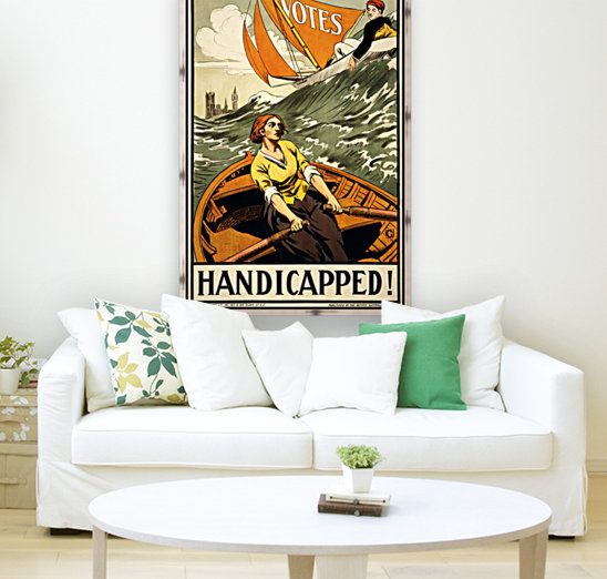 Handicapped with Floating Frame