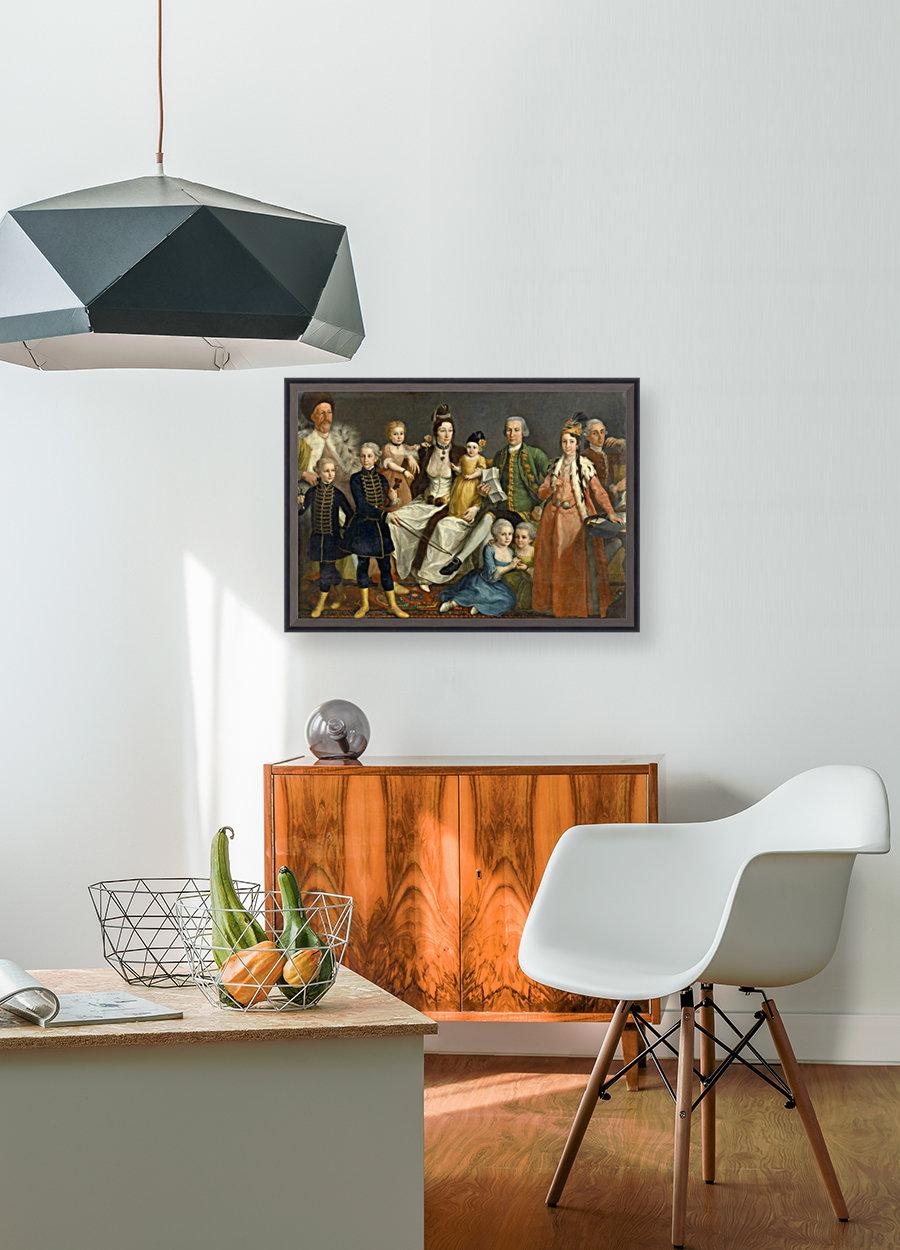 David George van Lennep and Family  Art