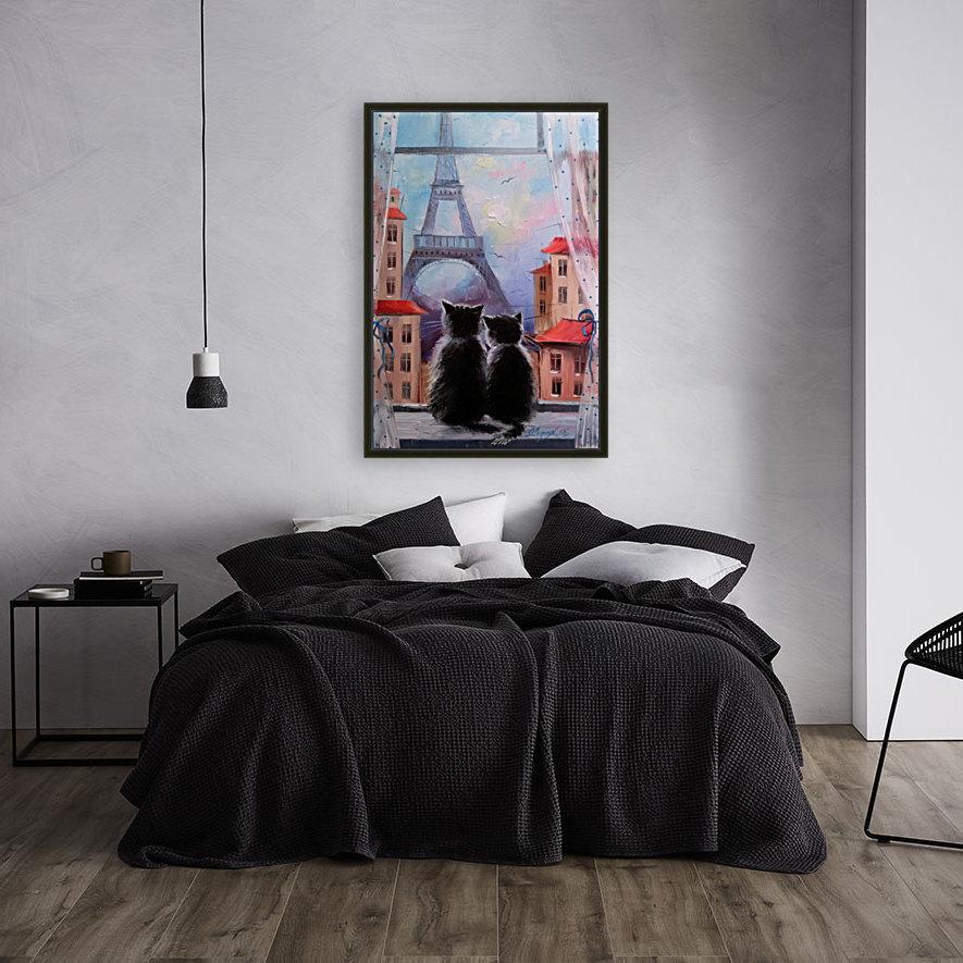 Друзя в Париже  Art