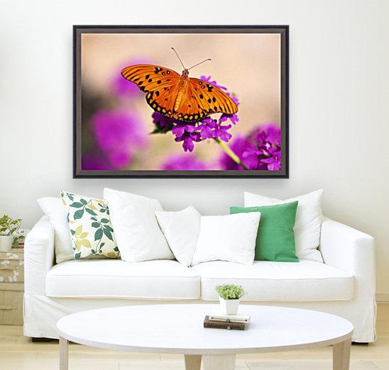 Orange Butterfly  Art