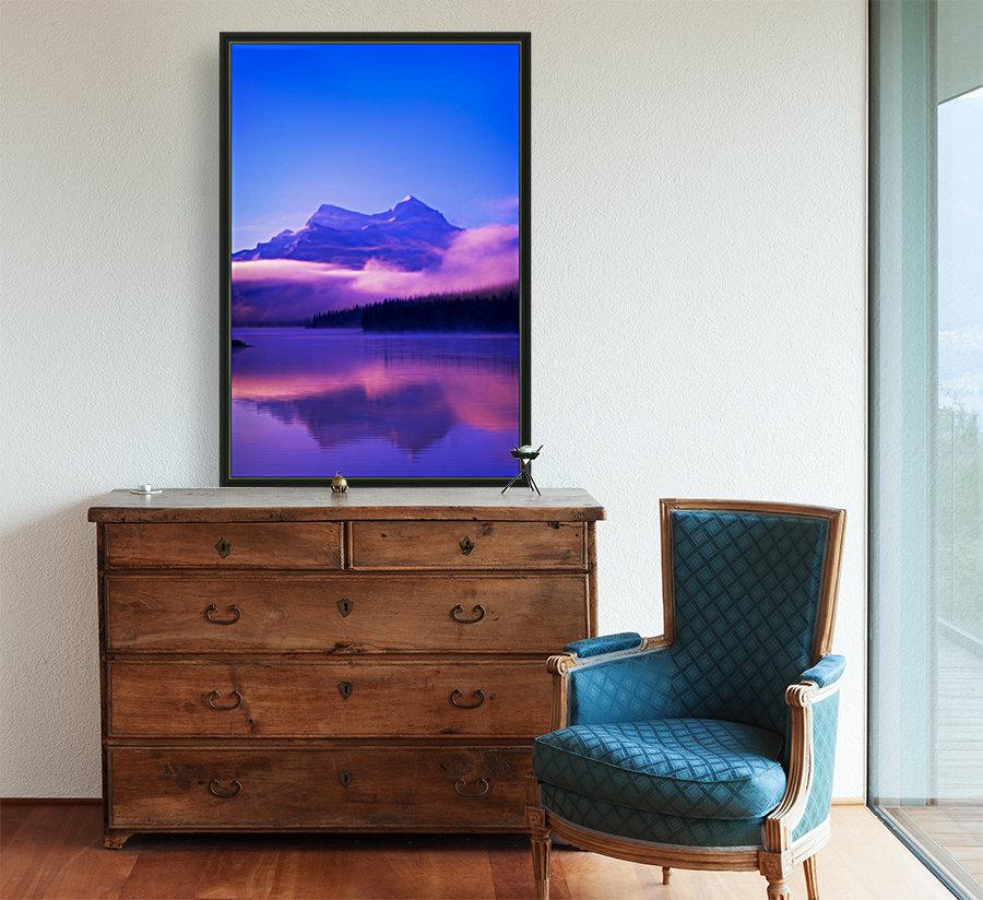 Maligne Lake, Jasper National Park, Alberta, Canada  Art