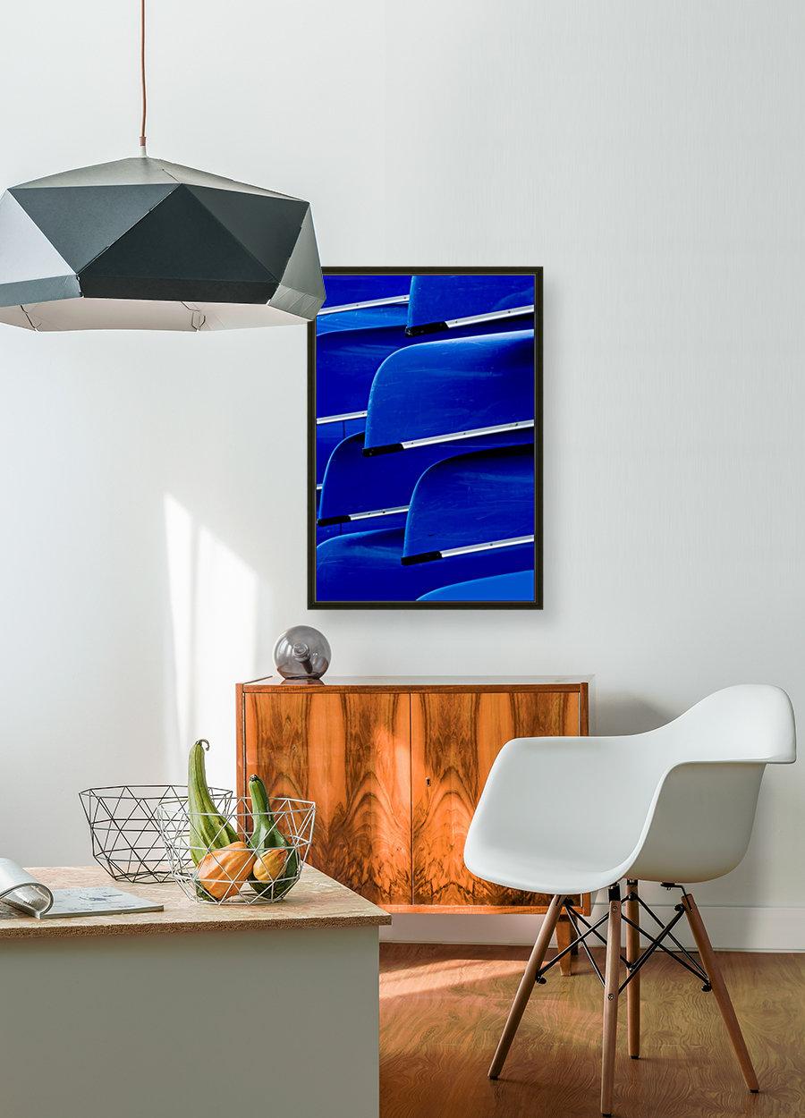 Blue Canoes  Art