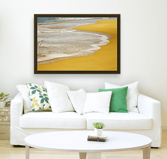 Tide On The Beach  Art