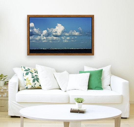 Miami Skyline  Art