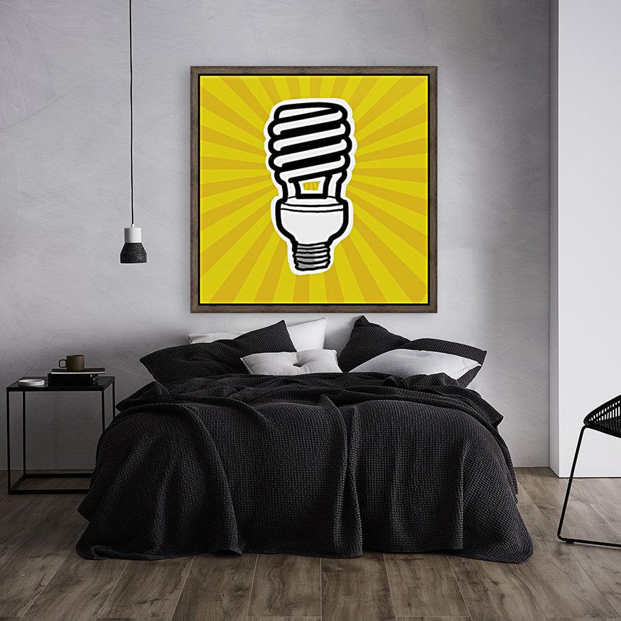 Compact Fluorescent Lightbulb  Art