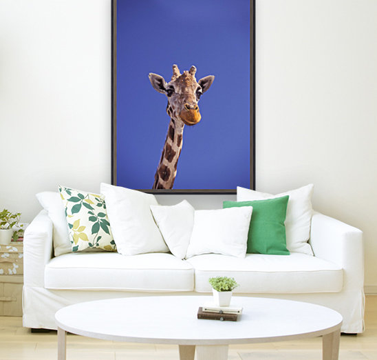 Masai Giraffe, Serengeti, Africa  Art