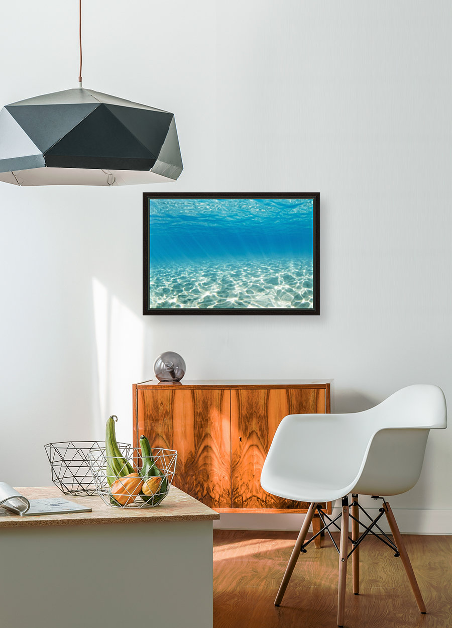 Underwater with Floating Frame