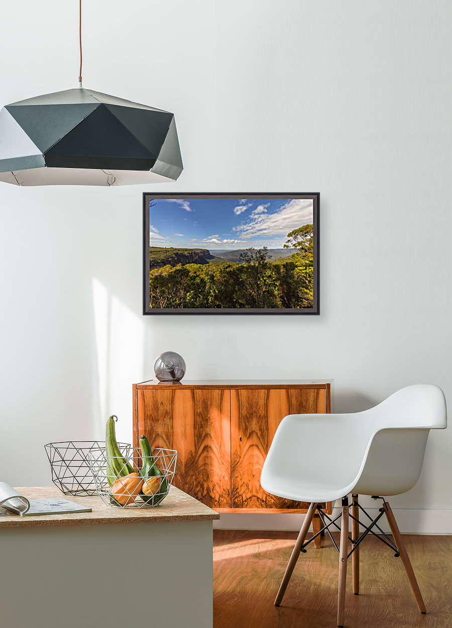 Blue Mountains with Floating Frame