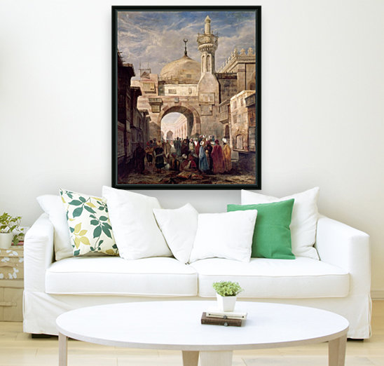 Mosque of Al Azhar in Cairo  Art