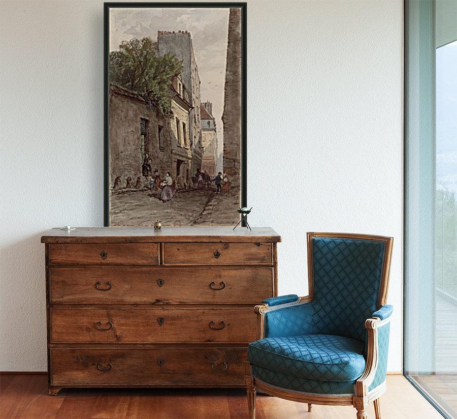 Maison du diacre Francois de Paris rue des Bourguignons  Art