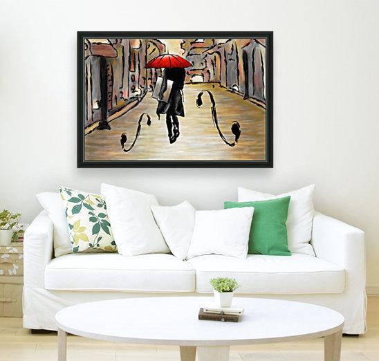 Hafanissia V1 - lady umbrella  Art