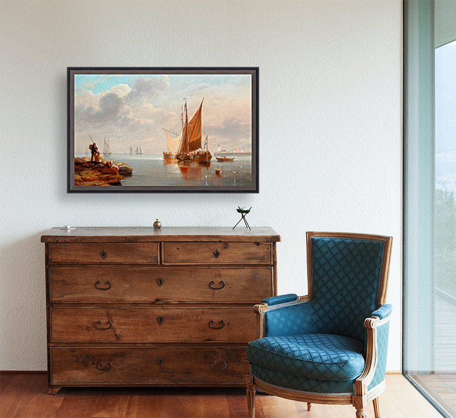 Dutch Fishing Boats with Floating Frame