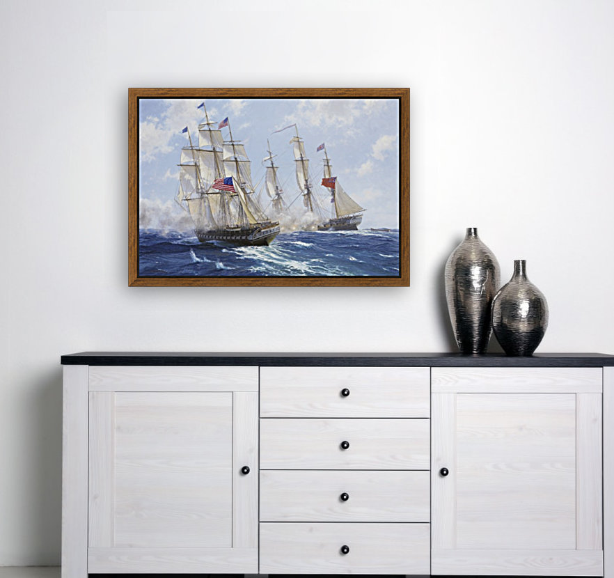 American boats by the sea  Art