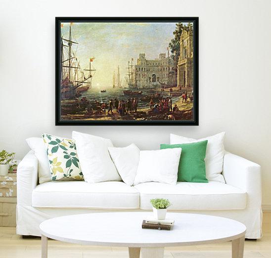Seaport with the Villa Medici  Art