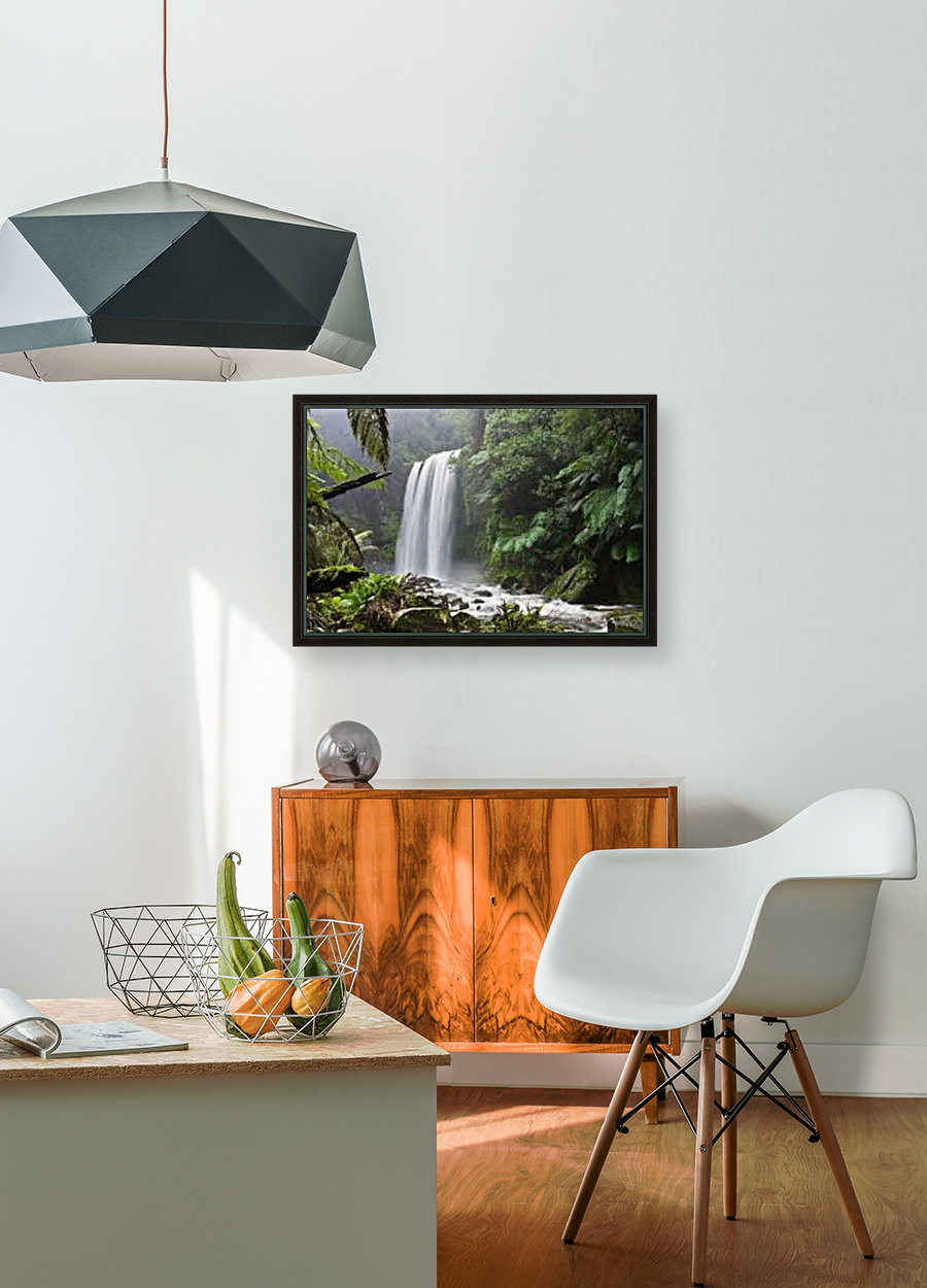 waterfall with Floating Frame