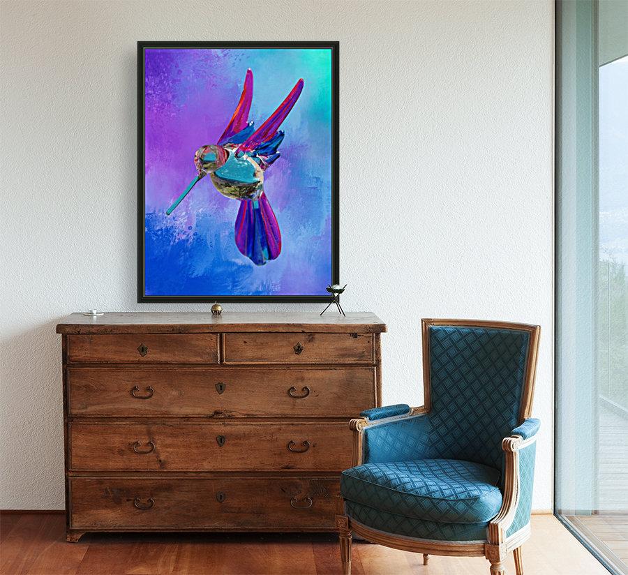 Glass Bird Abstract   Art
