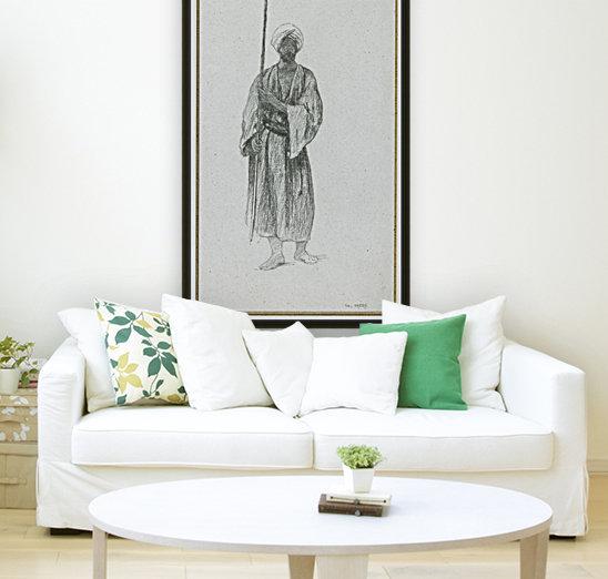 Arab sentinel  Art