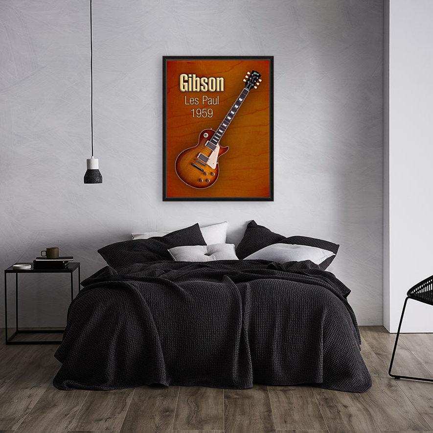 Vintage Gibson Les paul 1959  Art