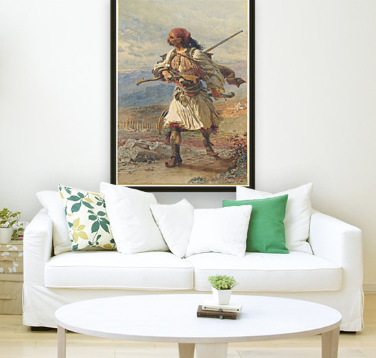 Greek Warrior  Art