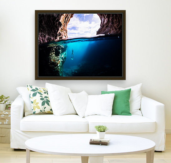 Cave diving  Art