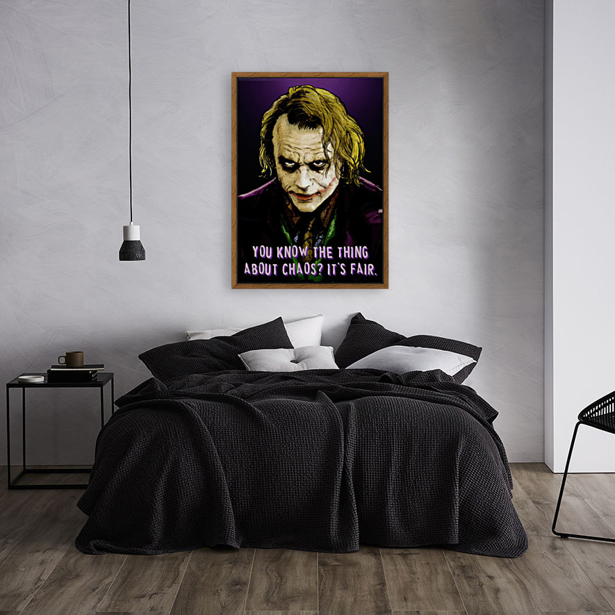 The Joker Says with Floating Frame