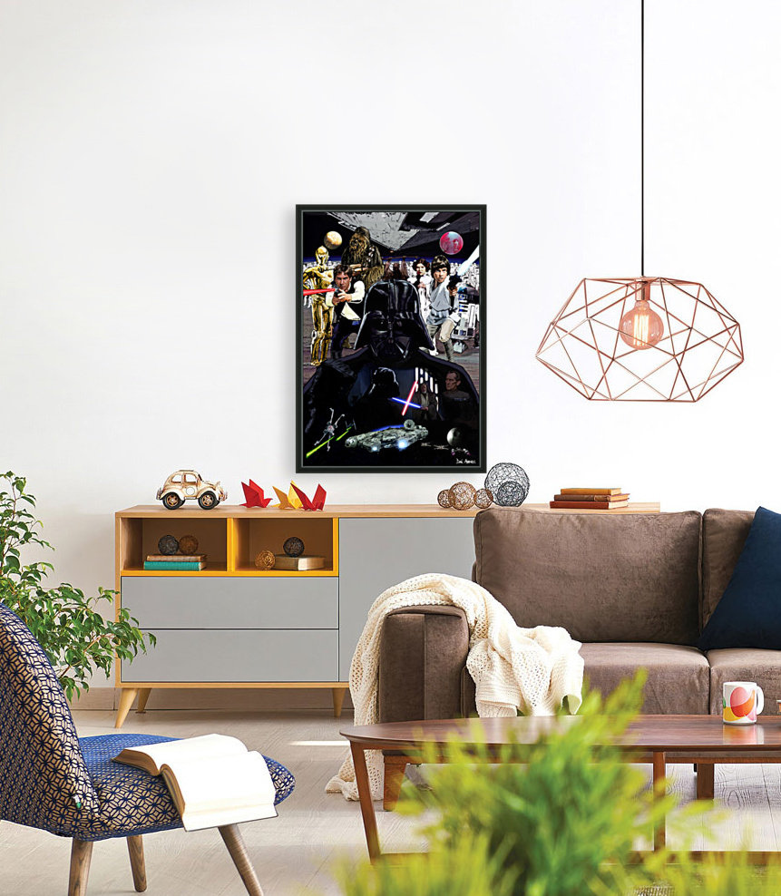 Star Wars  with Floating Frame