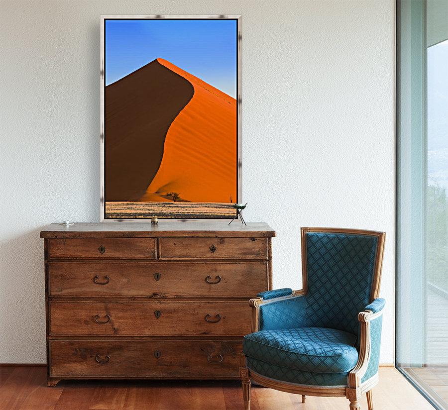 Sand Dune, Sossusvlei, Namib Desert, Namibia, Africa  Art