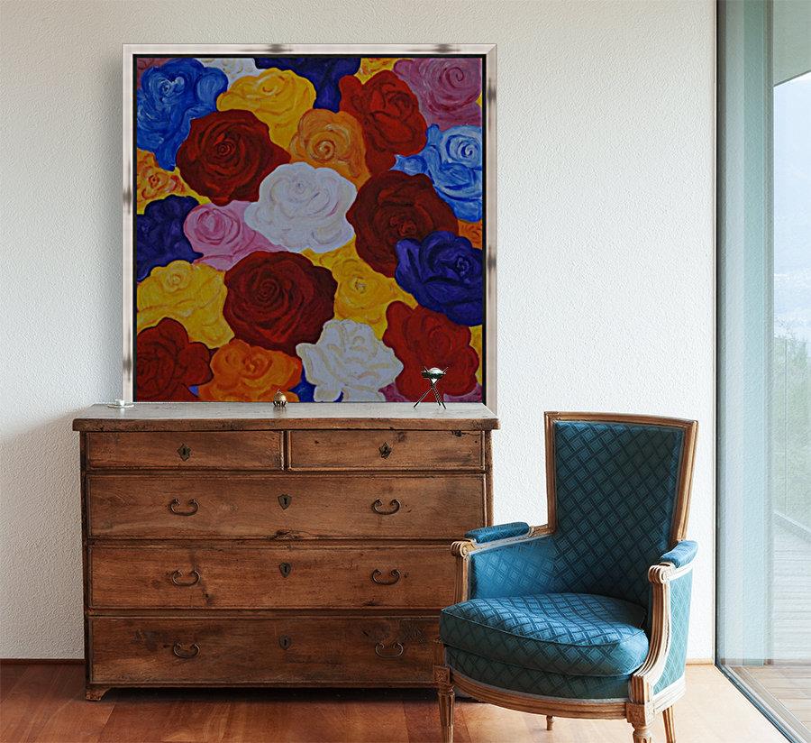 Colorful roses  Art