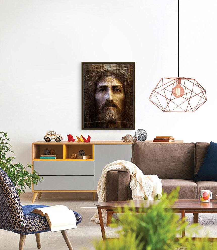 Christ face reconstruction  Art