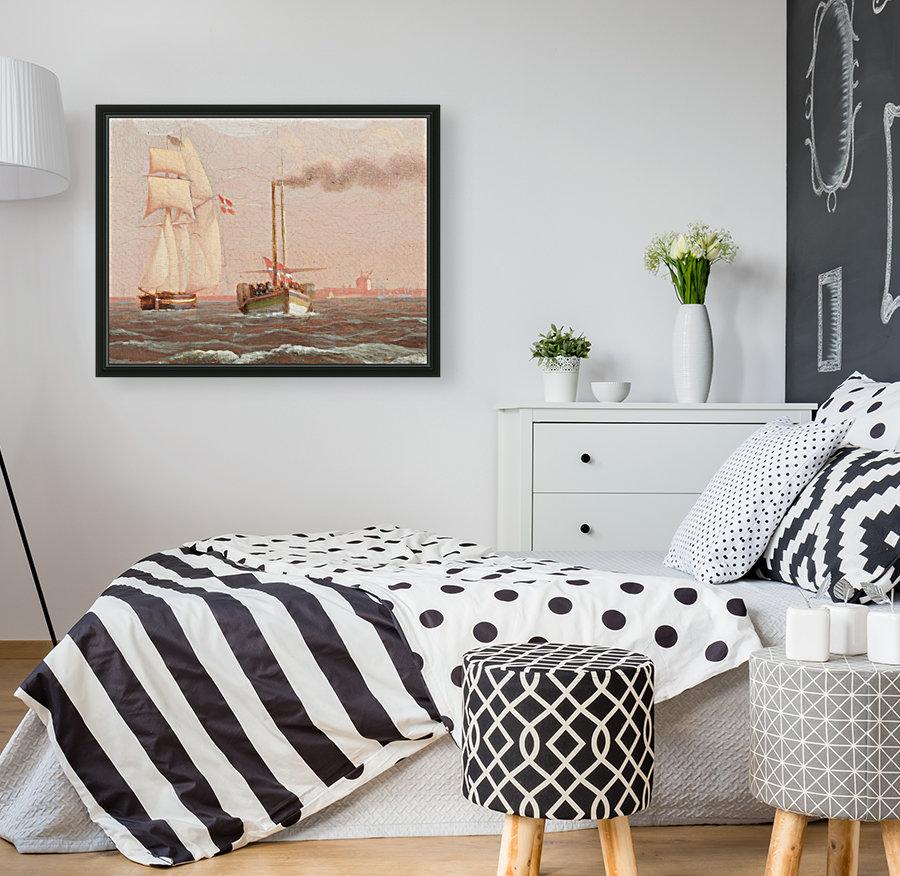 Danish paddle steamer  Art