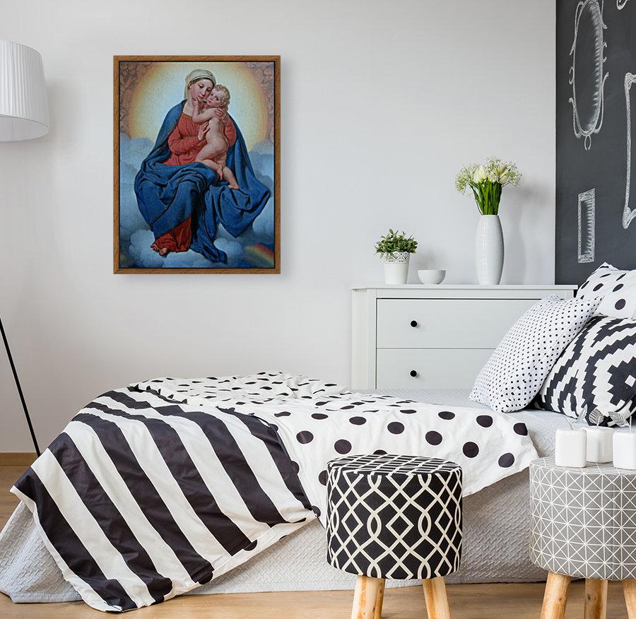 Maria med Jesusbarnet  Art