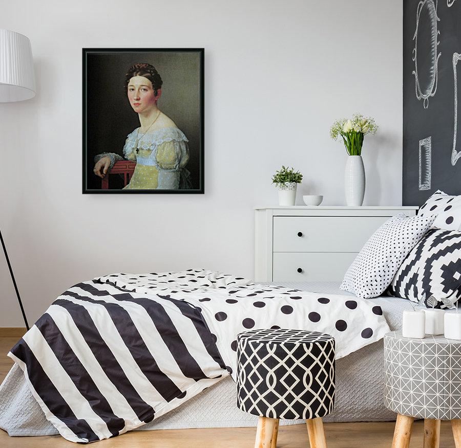 Portrait of Emilie Henriette Massmann  Art