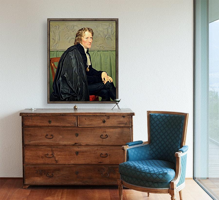 Portrait of Bertel Thorvaldsen  Art