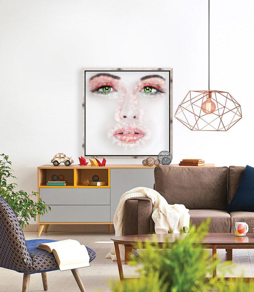 Kessania - white face  Art