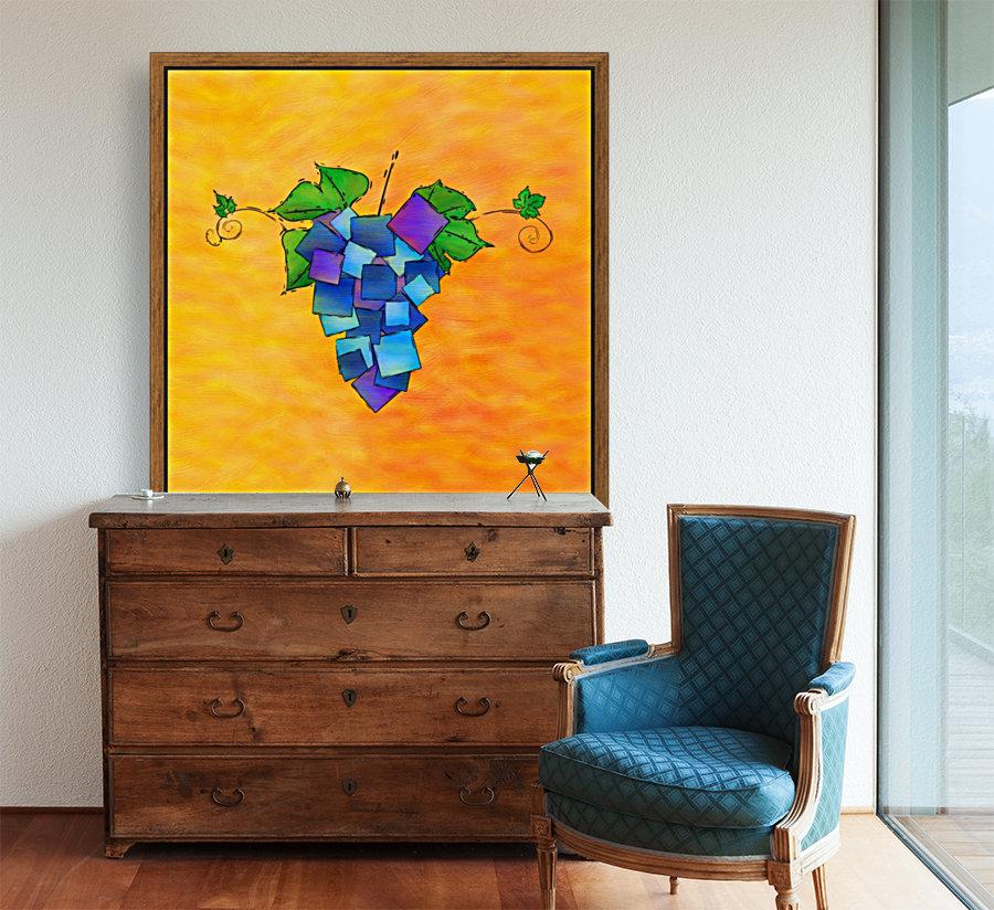 Jamurissa - square grapes  Art