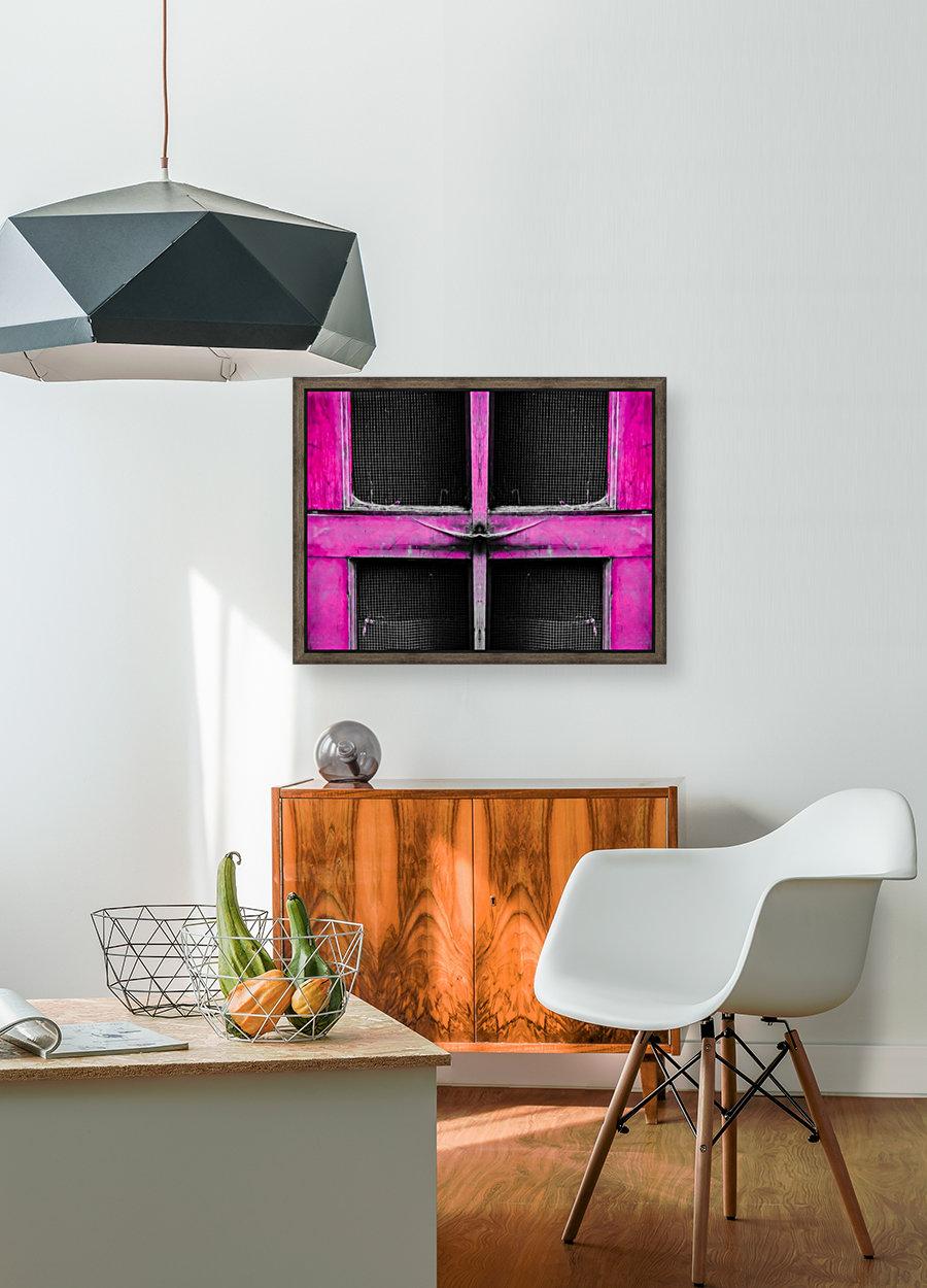 old pink wooden door abstract background  Art