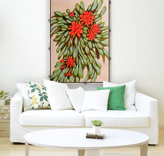 red flowers  Art