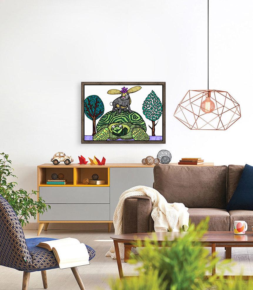 tortoise and hare  Art