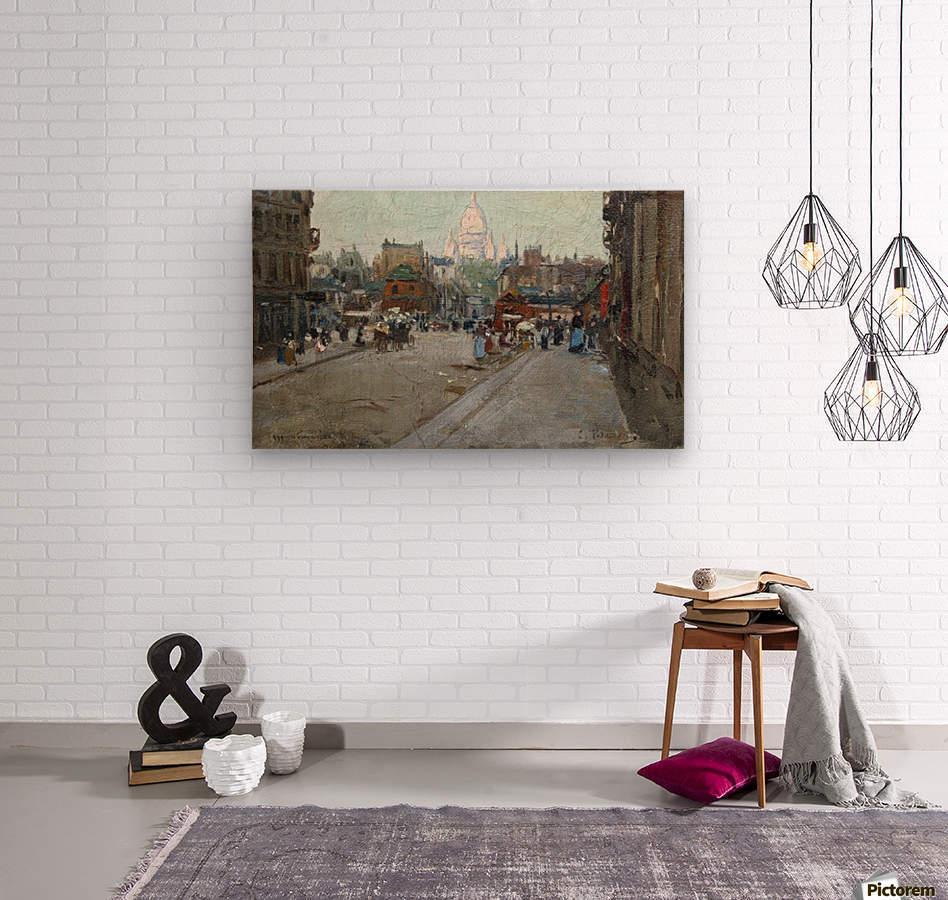 Montmartre  Wood print