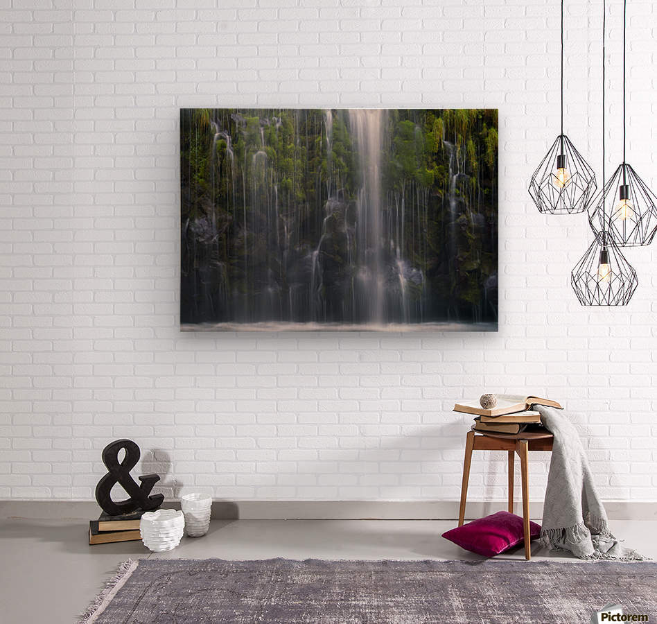 Magical retreat  Wood print