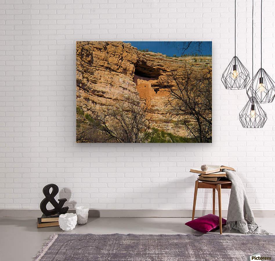 Montezuma's Castle-15  Impression sur bois