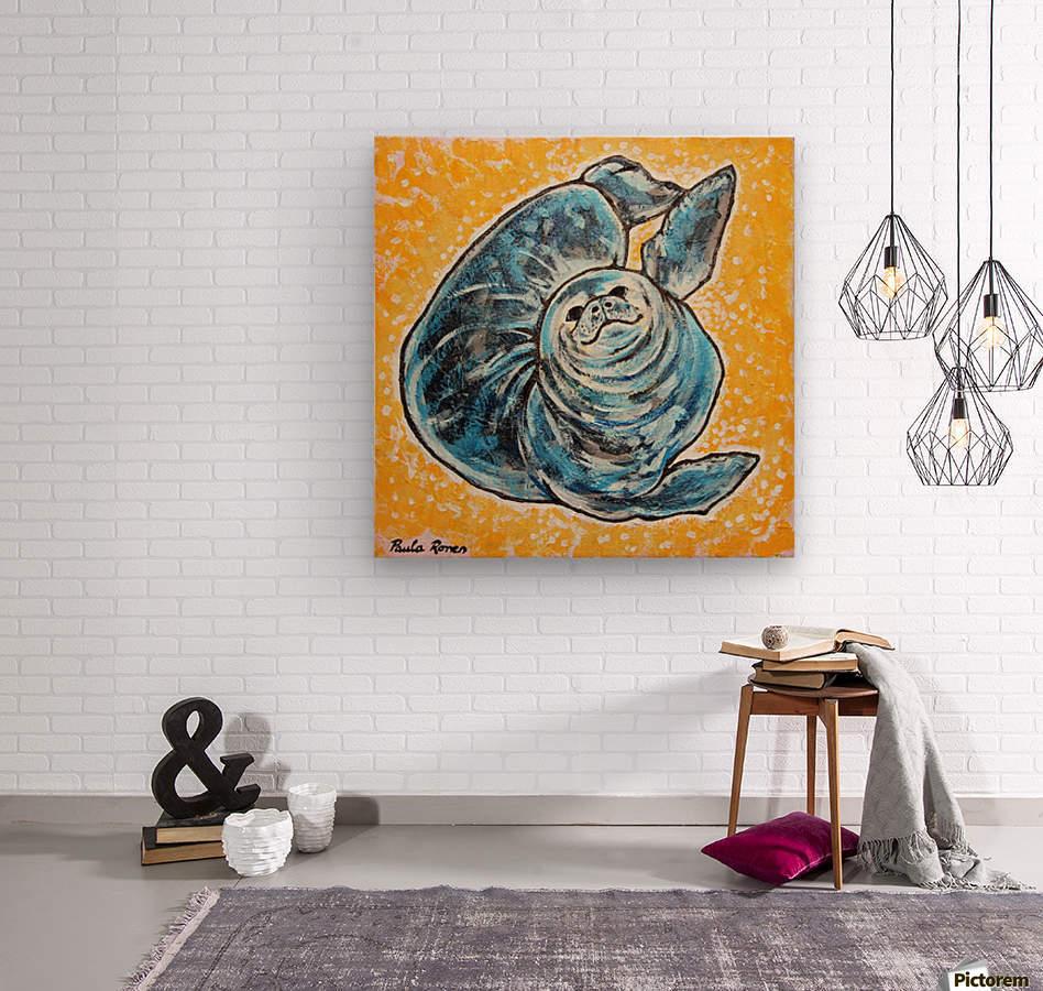 Foca Ori  Wood print